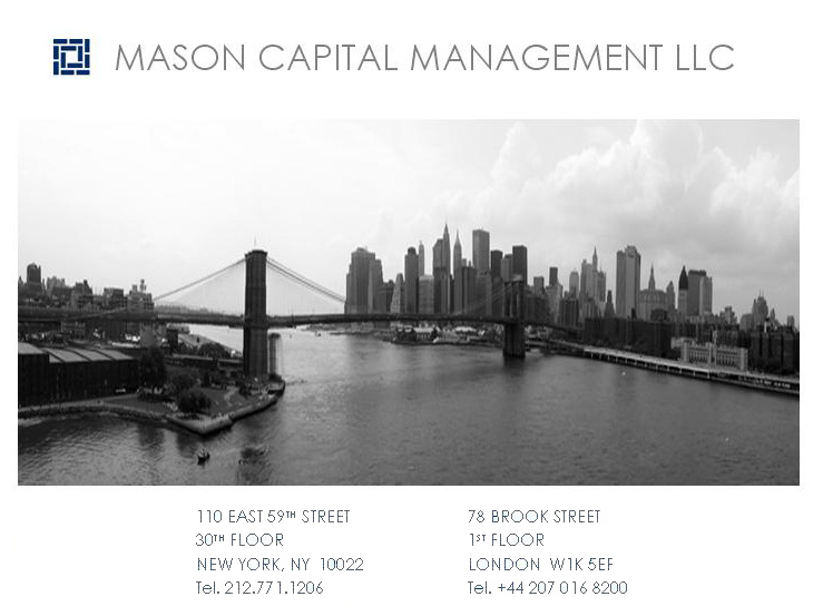 Mason Capital Management LLC